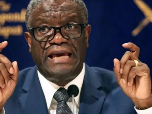 DENIS MUKWEGE TONNE CONTRE LE MANQUE DE JUSTICE POUR LES CRIMES EN RDC
