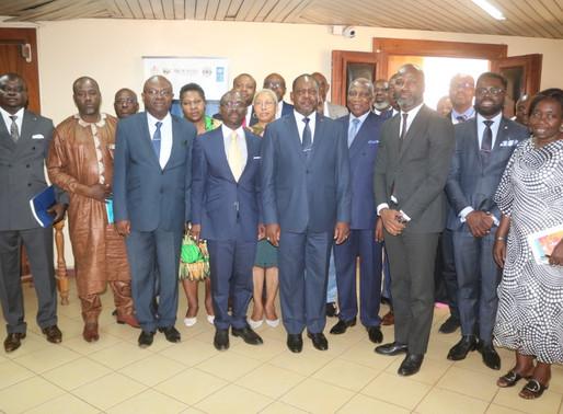 MISSION DE PROSPECTION ECONOMIQUE DU CAC10 ET DES DIASPORAS AFRICAINES A BANGUI du 17 AU 21 FÉVRIER