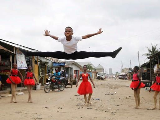 Conte de fée pour un jeune danseur nigérian devenu célèbre grâce à une vidéo virale