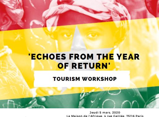 Échos de l'année du retour par l'Ambassade du Ghana en France