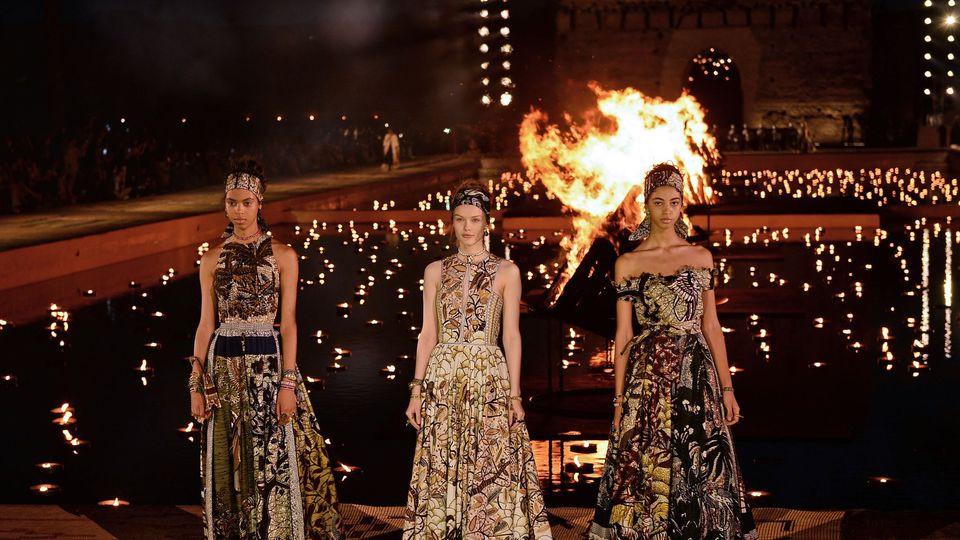 Défilé Dior à Marrakech, le 29 avril 2019 afp.com/-