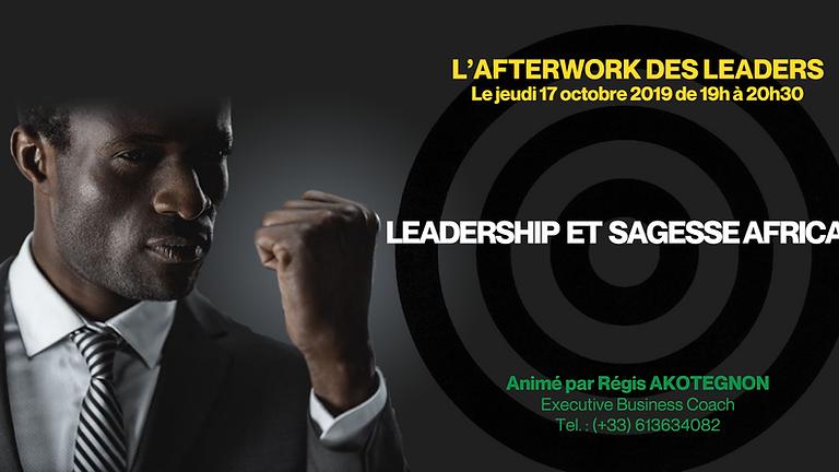 L'AFTERWORK DES LEADERS