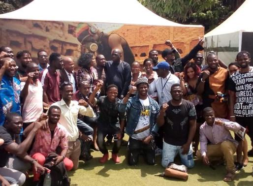 """Culture: les initiateurs du projet """"Un tour d'Afrique en 57 semaines"""" à Conakry ..."""