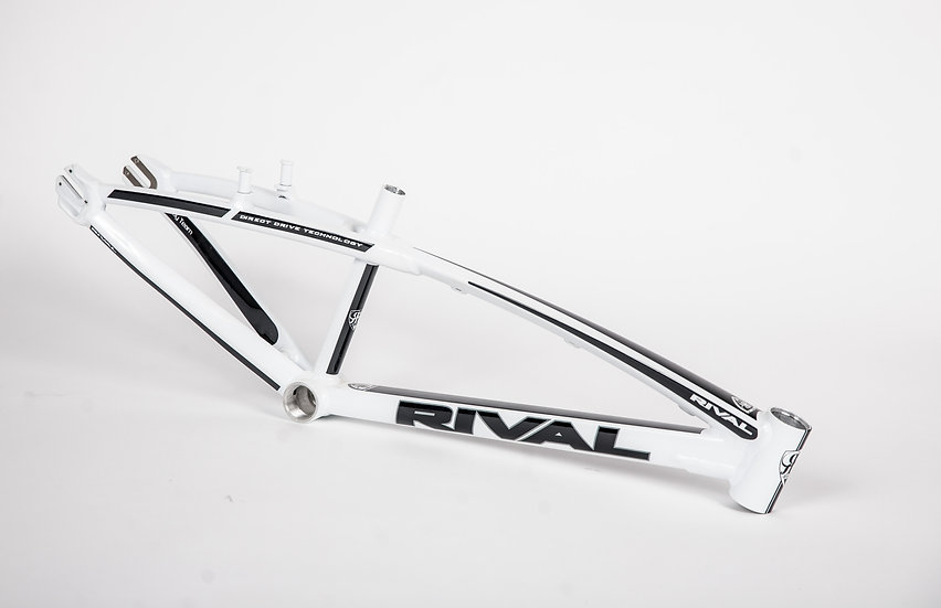 NEW Rival Racing Alloy White Team Frame