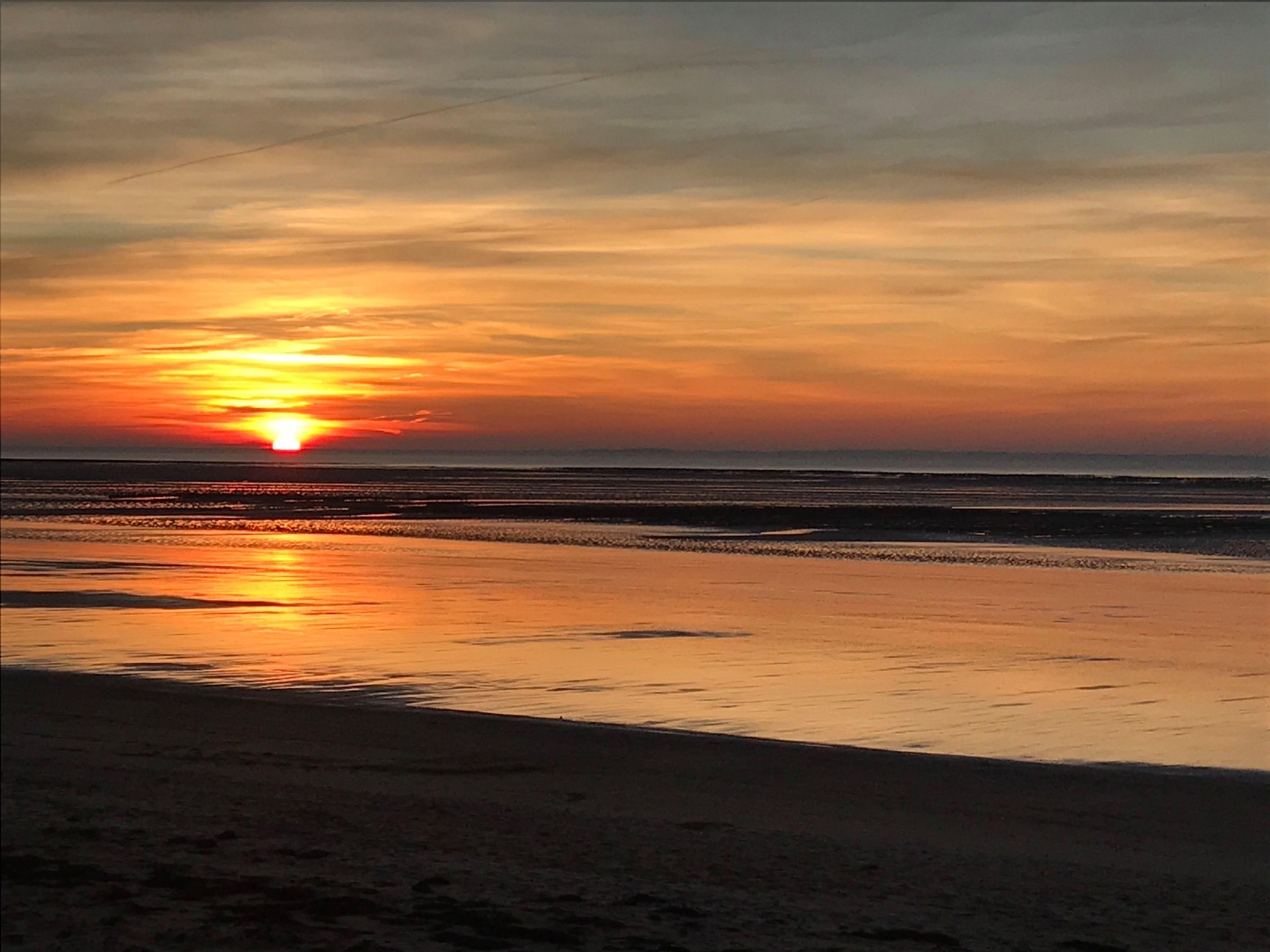 coucher de soleil sur le ruet