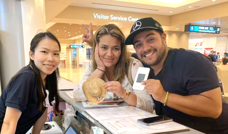 Customers from Mexico