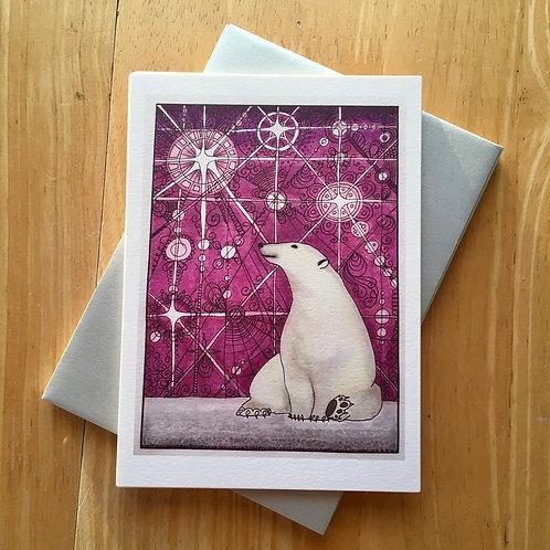 Polar bear notecards