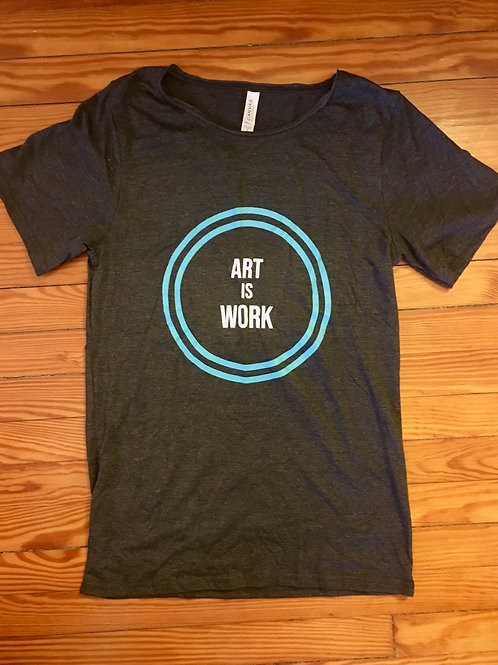 ART IS WORK tee
