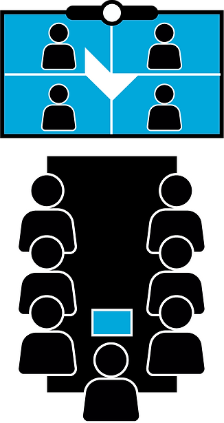 LANMEDIA Konferenraum Raumlösung Meetingraum Meeting Microsoft Teams Zoom