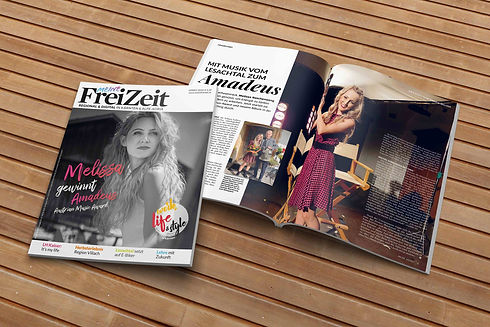 Meine FreiZeit Magazin Herbst 2020 Cover Melissa Naschenweng Amadeus