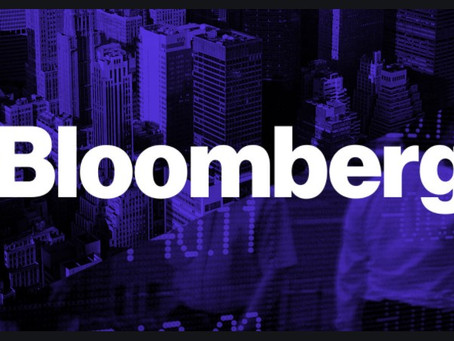 Bloombergに採用されました