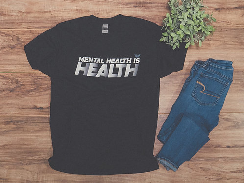 Mental Health is Health Short-Sleeve Unisex T-Shirt