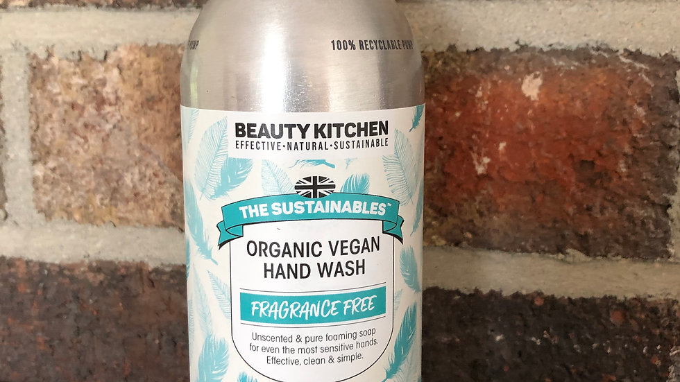 Fragrance Free Vegan Hand Wash