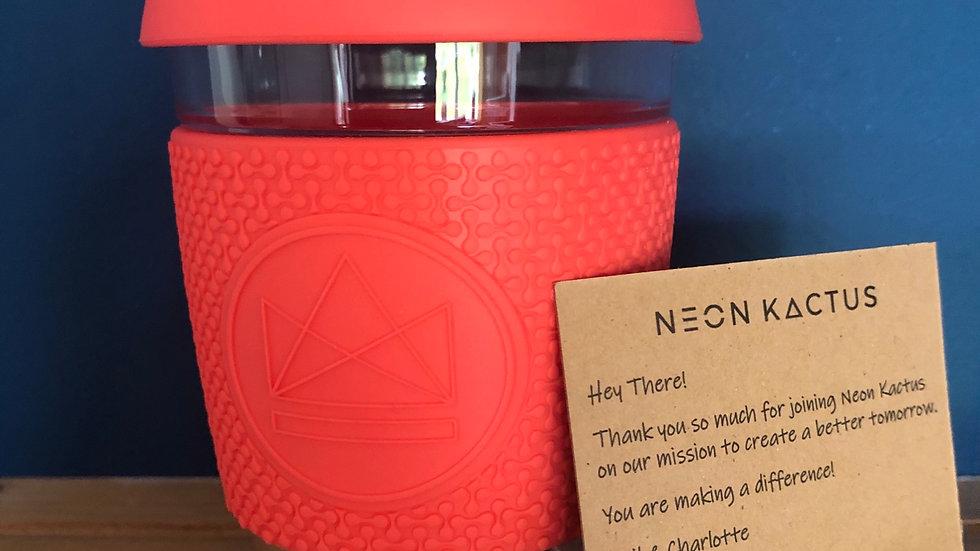 Dream Believer Neon Kactus Reusable cup