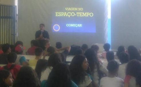 palestra astronomia escola