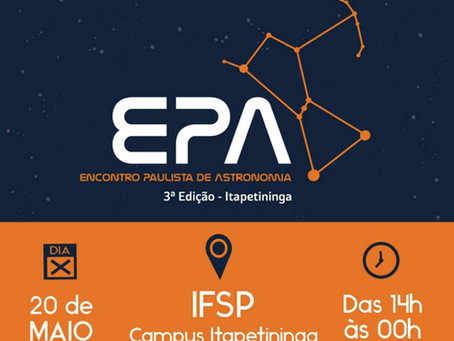 Encontro Paulista de Astronomia reune 3 mil pessoas em Itapetininga
