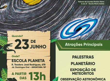 Angatuba/SP sediará o Encontro Paulista de Astronomia em 2018
