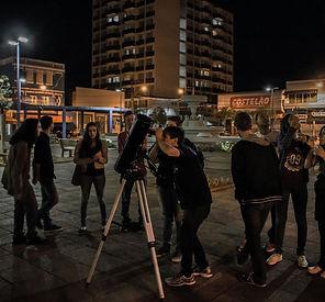 observação astronômica praça itapetininga clube de astronomia centauri