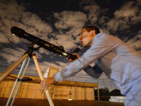 Aluno da UFSCar cria Clube de Astronomia