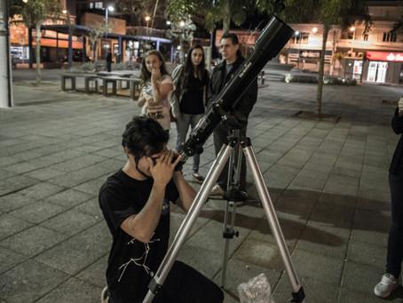 Clube busca novos membros apaixonados por Astronomia
