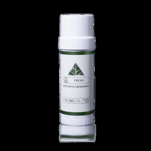 Fresh – Enzymatic Deodorant Vanilla Rose