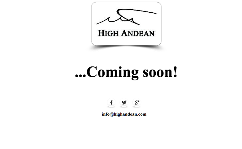 High Andean