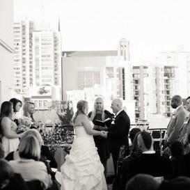Wedding Ceremony Terrace View