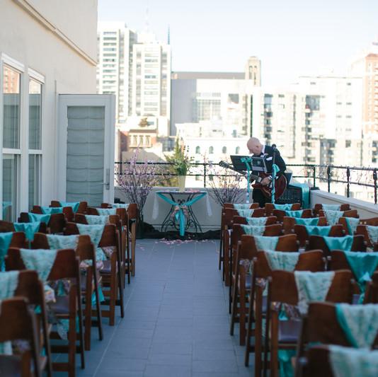 Terrace Wedding Ceremony
