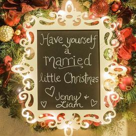 Christmas Wimsy Wedding