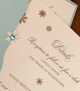 I Love You Maddly wedding planning services invitation styling