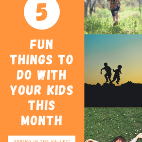 5 Fun Things for Little Ones This Month