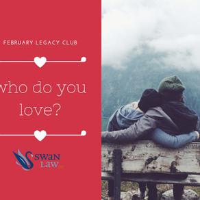 February Legacy Club