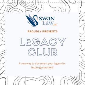 Announcing Legacy Club!