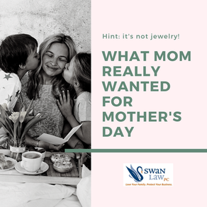 What Mom Really Wanted for Mother's Day