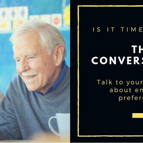 """How to Have """"the"""" Conversation with Aging Parents"""