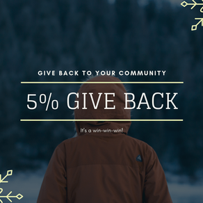 What's 5% Give Back?