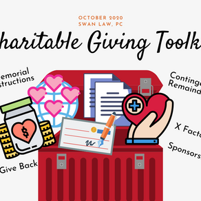 What's in the Charitable Giving Toolkit?