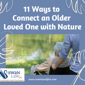11 Ways to Connect an Older Loved One with Nature