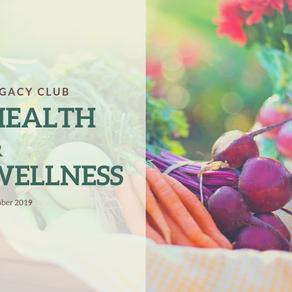 Legacy Club: Health & Wellness
