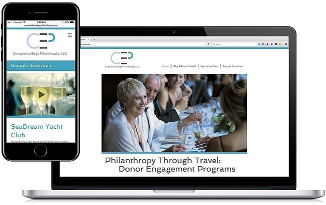 Competitive Edge Philanthropy, LLC website