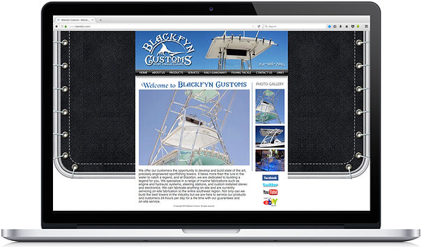 Blackfyn Customs Website