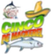 Cinco De Mackerel Logo illustration