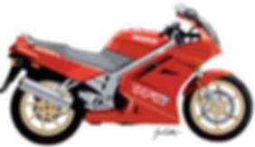 Honda VFR Illustration