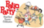 PrintXcel Patio Party Illustration