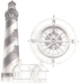 St Augustine Lighthouse Pencil Drawing