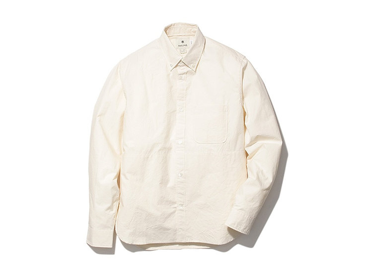 Organic Cotton Button Down Shirt M EC