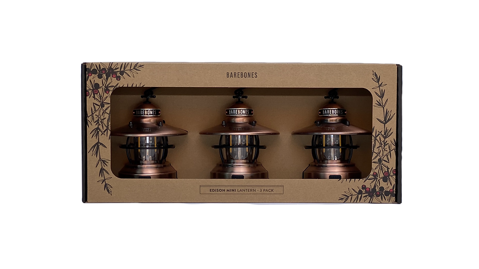 """ Limited "" Mini Edison Limited 3 Pack"