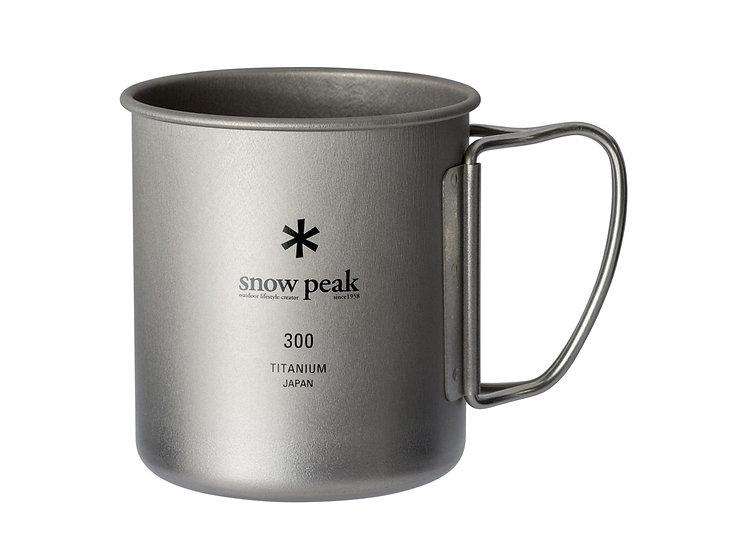 Titanium Single Cup 300ml