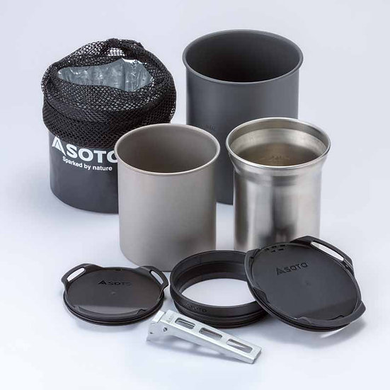 SOTO Thermo Stack Cook Set Combo