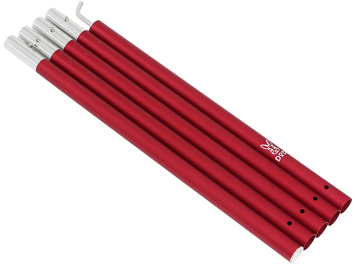 DoD BIG TARP POLE 250cm RED